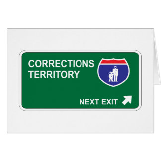 Corrections Next Exit Card