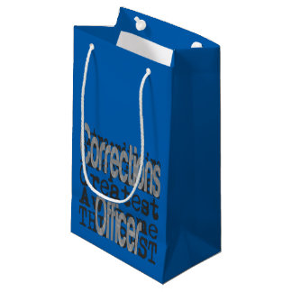 Corrections Officer Extraordinaire Small Gift Bag
