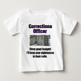 Corrections Officer Nightmares Tshirt