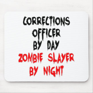 Corrections Officer Zombie Slayer Mouse Pad