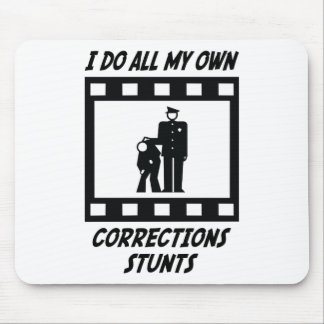 Corrections Stunts Mouse Mat