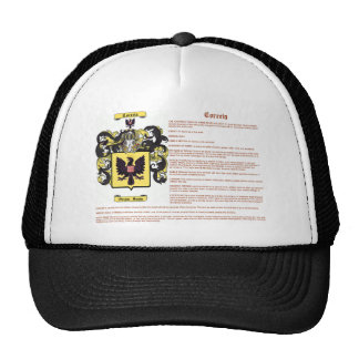 Correia (meaning) trucker hat