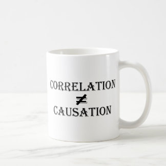 Correlation Does Not Equal Causation Coffee Mug