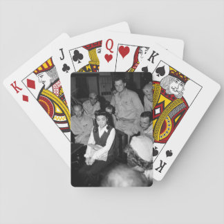 "Correspondents interview ""Tokyo Rose_War Image Playing Cards"