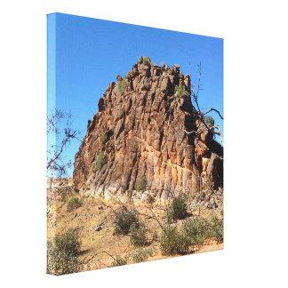 Corroboree Rock canvas print