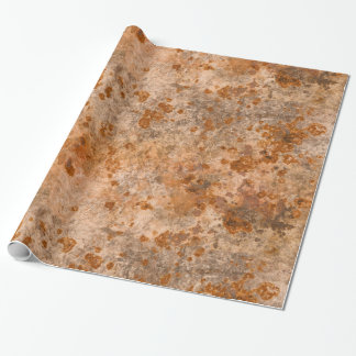 Corroded Metal Wrapping Paper
