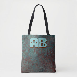 "Corrosion ""Copper"" Monogram print all-over tote"