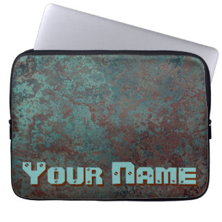 "Corrosion ""Copper"" Name print 13"" laptop sleeve"