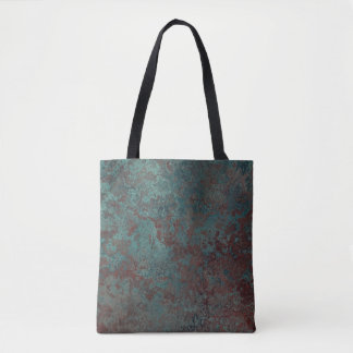 "Corrosion ""Copper"" print all-over tote bag"