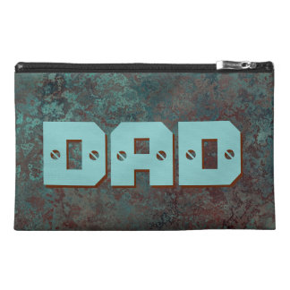 "Corrosion ""Copper"" print DAD travel accessory bag"