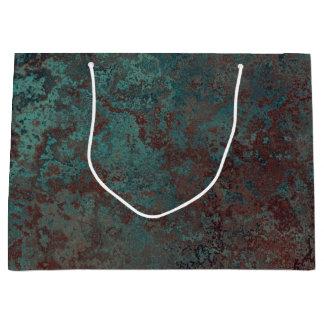 "Corrosion ""Copper"" print gift bag large"