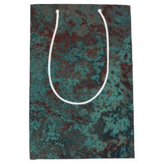"Corrosion ""Copper"" print gift bag medium"