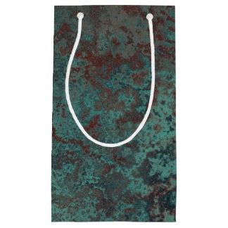 """Corrosion """"Copper"""" print gift bag small"""