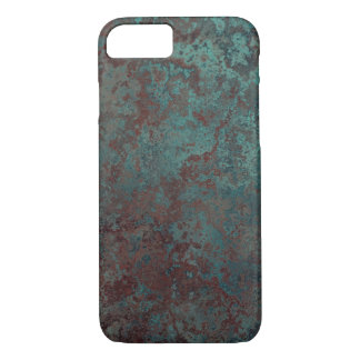 "Corrosion ""Copper"" print iPhone 7 barely there Case-Mate iPhone Case"
