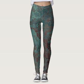 """Corrosion """"Copper"""" print leggings"""