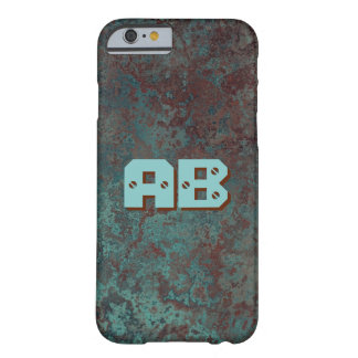 "Corrosion ""Copper"" print Monogram iPhone 6/6S Barely There iPhone 6 Case"