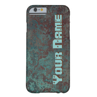 "Corrosion ""Copper"" print 'Name' iPhone 6/6S Barely There iPhone 6 Case"