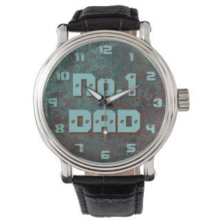 "Corrosion ""Copper"" print No1 DAD watch numbers"