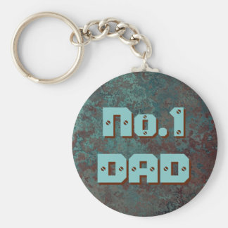 "Corrosion ""Copper"" print No.1 DAD keychain"