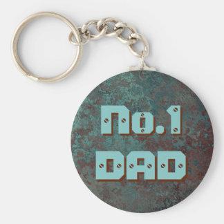 "Corrosion ""Copper"" print No.1 DAD keychain"