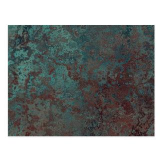 """Corrosion """"Copper"""" print postcard"""