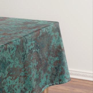 """Corrosion """"Copper"""" print tablecloth"""
