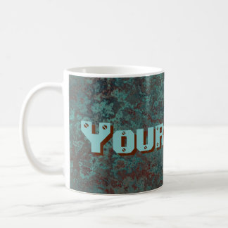 "Corrosion ""Copper"" Your Name print mug"