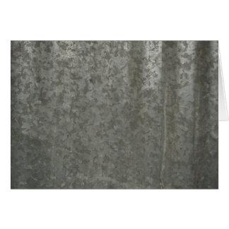 Corrugated Sheet Metal Card