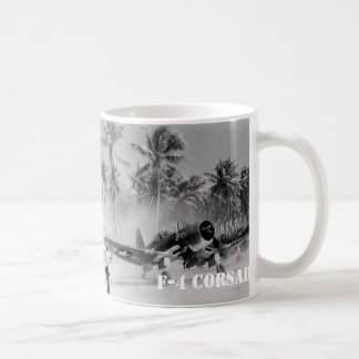 CORSAIR FIGHTER AIRCRAFT F-4 COFFEE MUG