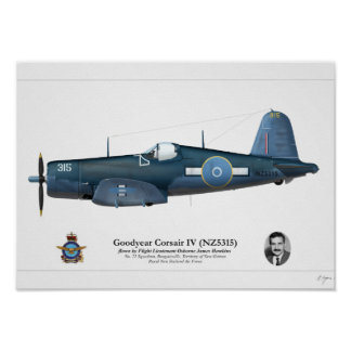 Corsair IV (Osborne Hawkins) Poster