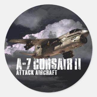 Corsaire A-7 II Sticker Rond