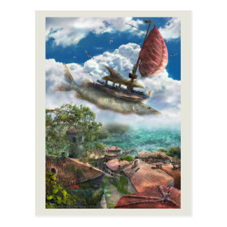 Corsairs from Sirroco - Postcard