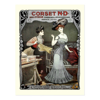 Corset N.D. - Postcard