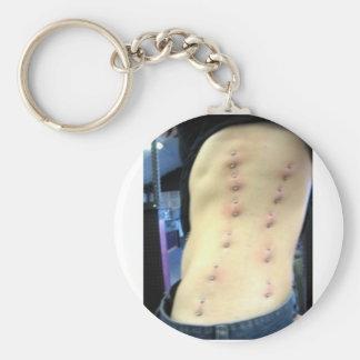 corset piercing keychain