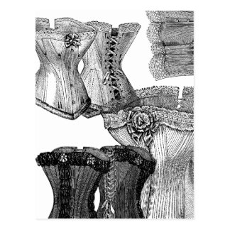 Corsets and More Corsets Postcard