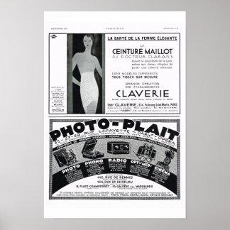Corsets, photo-plait poster