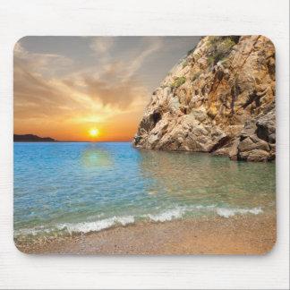 corsican landscape mouse pad