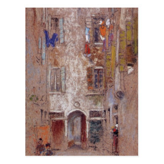 Corte del Paradiso by Whistler Postcard