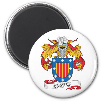 Cortes Family Crest Magnet