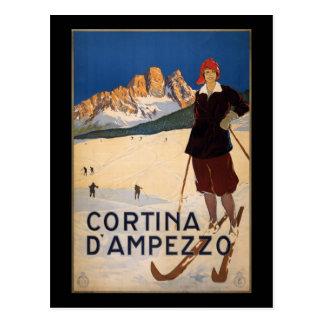 Cortina d'Ampezzo Postcard