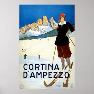 Cortina D'ampezzo Poster