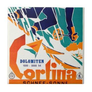 Cortina, Dolomiti Tile