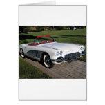 Corvette antique cars classic autos vintage cars card