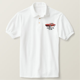 CORVETTE CLUB MEN'S POLO SHIRT