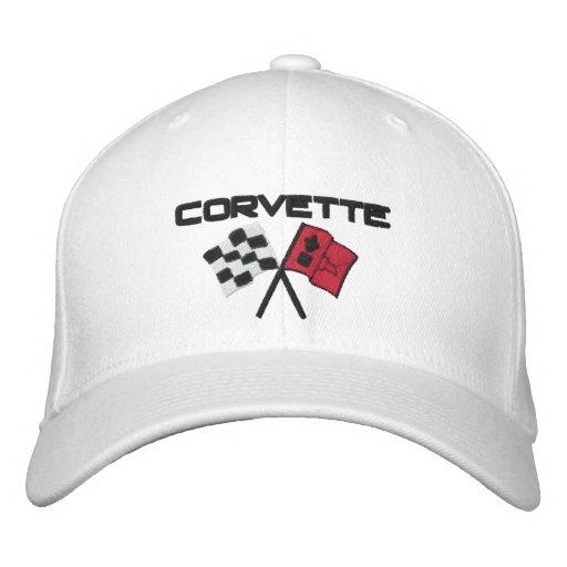 Corvette Embroidered Cap