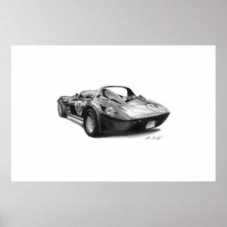 Corvette Grand Sport Poster