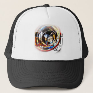 Corvette Hubcap - Route 66 Trucker Hat
