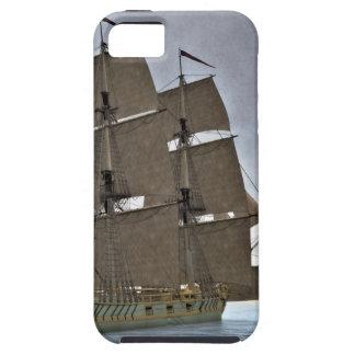 Corvette Sailing Vessel in Calm Waters iPhone 5 Case
