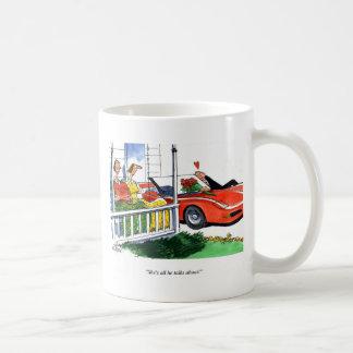 Corvette Valentines Coffee Mug