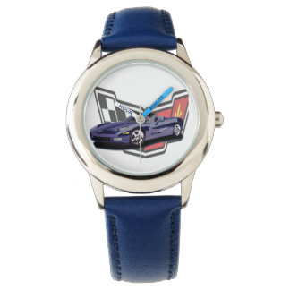 """Corvette"" watch"